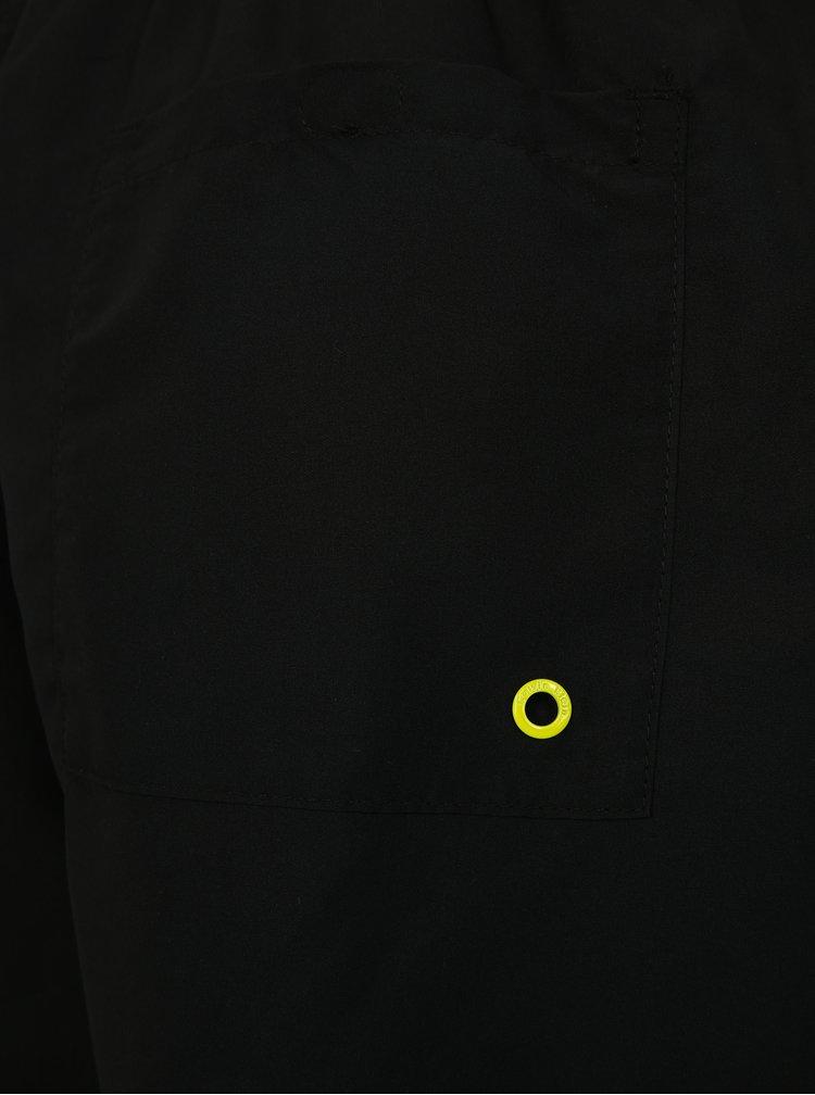 Černé pánské plavky s gumou v pase Calvin Klein Underwear