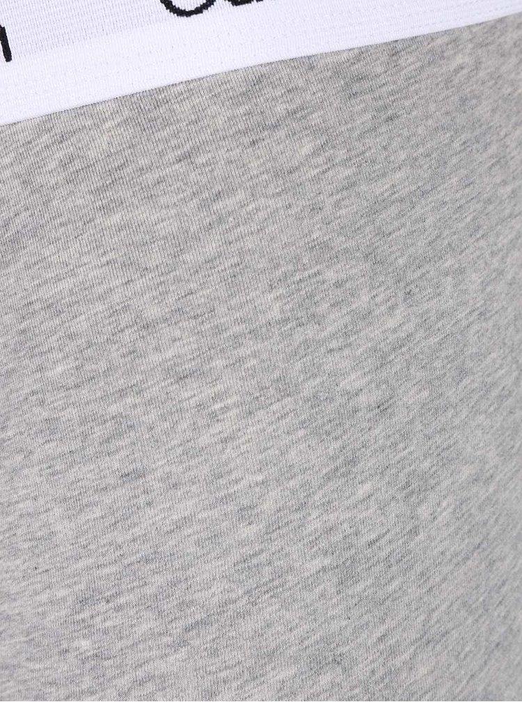 Set de 2 perechi de boxeri negru&gri - Calvin Klein Underwear
