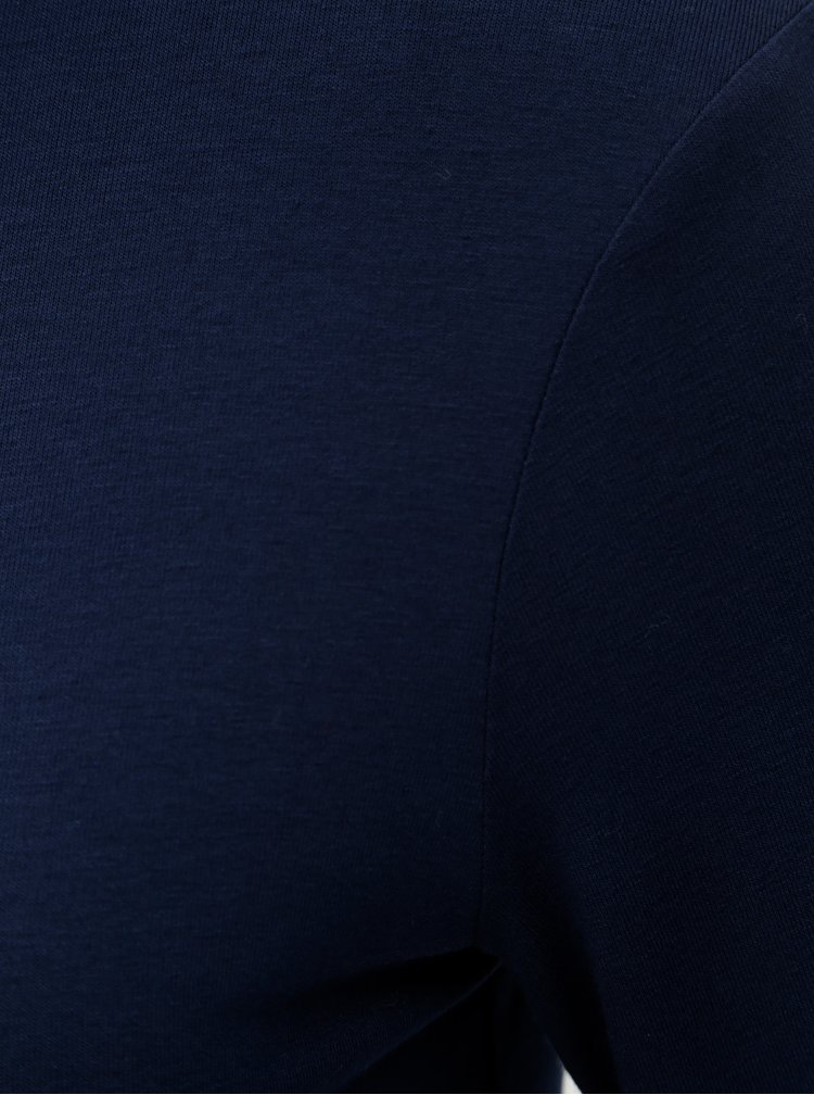 Tmavě modrý rolák s knoflíky na rukávech Dorothy Perkins