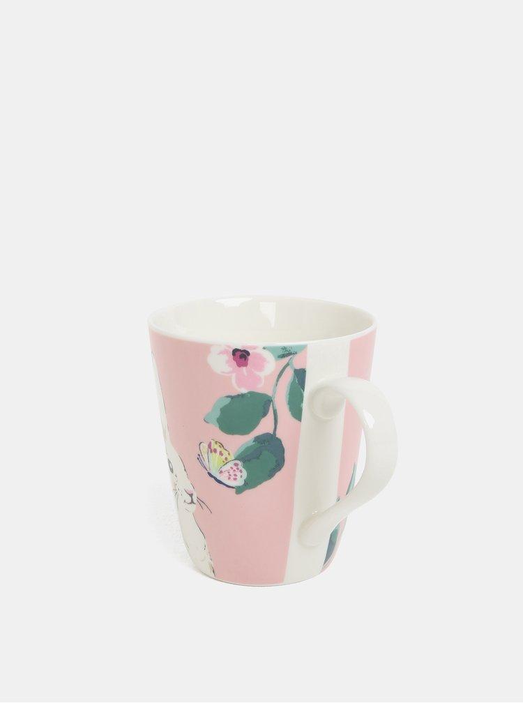 Růžový vzorovaný hrnek Cath Kidston 400 ml