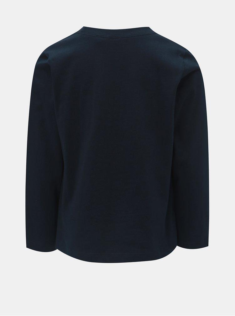 Tmavě modré klučičí tričko s potiskem Name it