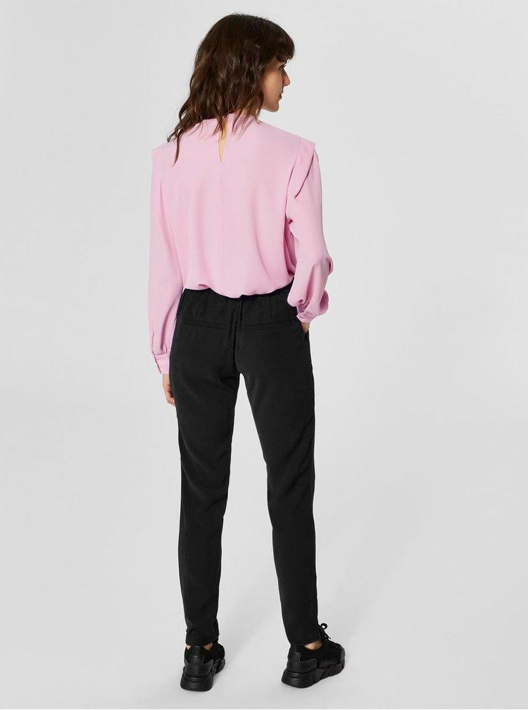 Čierne nohavice Selected Femme Sofia