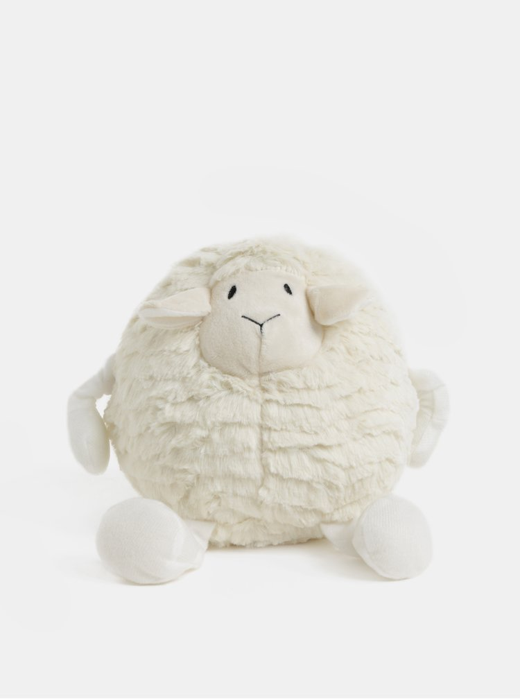 Krémová nahrievacia plyšová ovečka s vôňou levandule Something Special Cozy