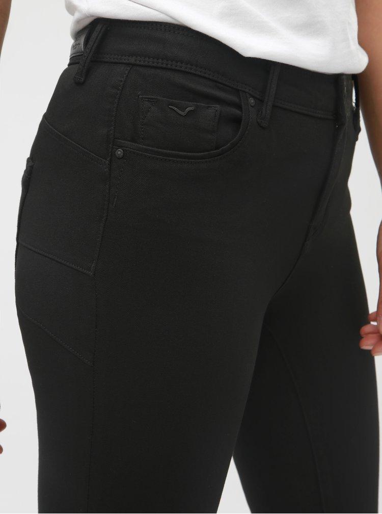 Černé skinny push up džíny ONLY Allan