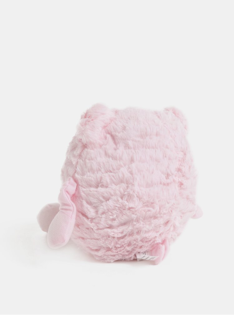 Růžové nahřívací plyšové prasátko s vůní levandule Something Special Cozy