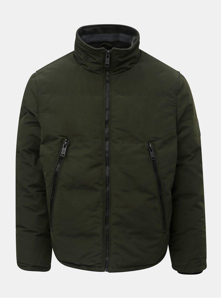 Khaki zimní bunda Burton Menswear London Cedar