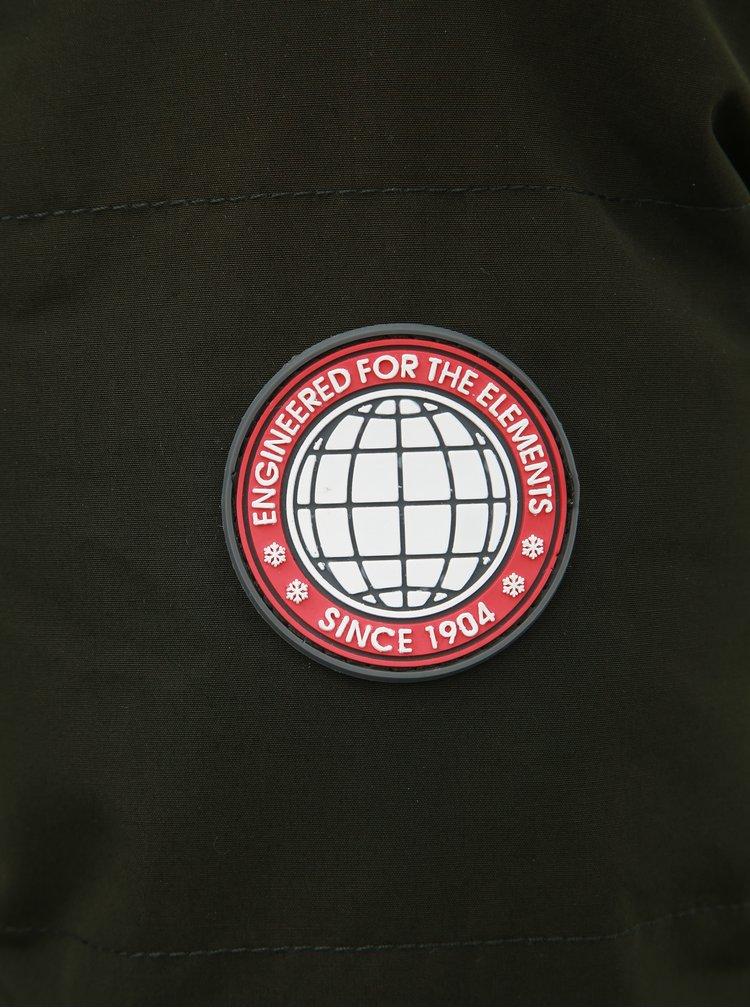 Kaki zimná bunda Burton Menswear London Cedar