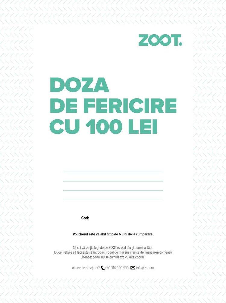 Card cadou electronic in valoare de 100 Lei