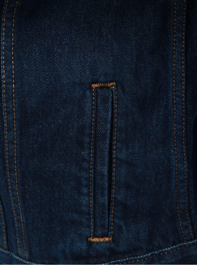 Jacheta albastru inchis din denim de dama Levi's® Trucker