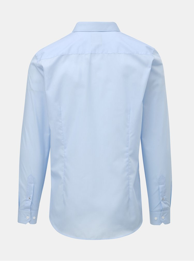 Camasa albastru deschis slim Burton Menswear London