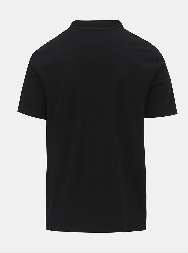 Tricou polo negru Burton Menswear London