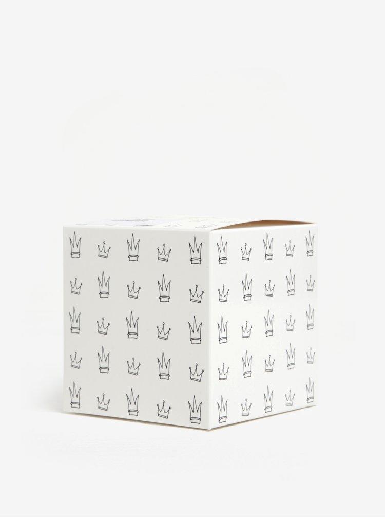 Cana alba cu print vesel  Butter Kings