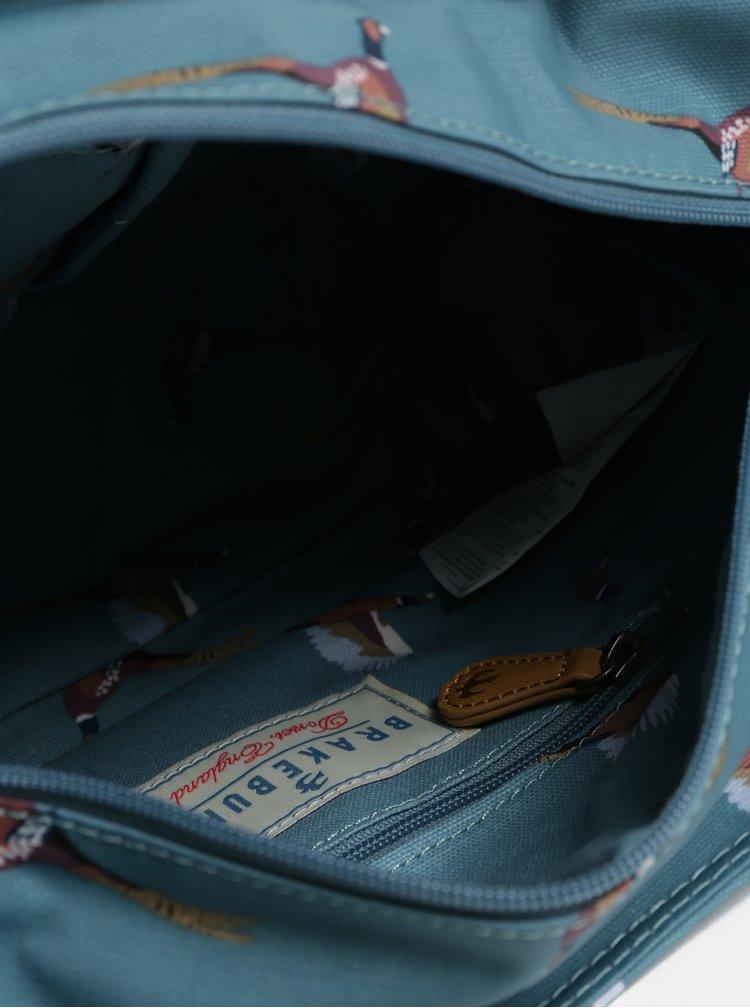 Světle modrá malá vzorovaná kabelka  Brakeburn