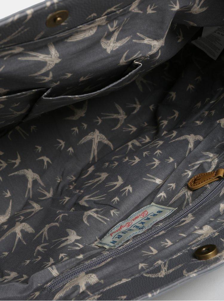 Šedá vzorovaná kabelka Brakeburn