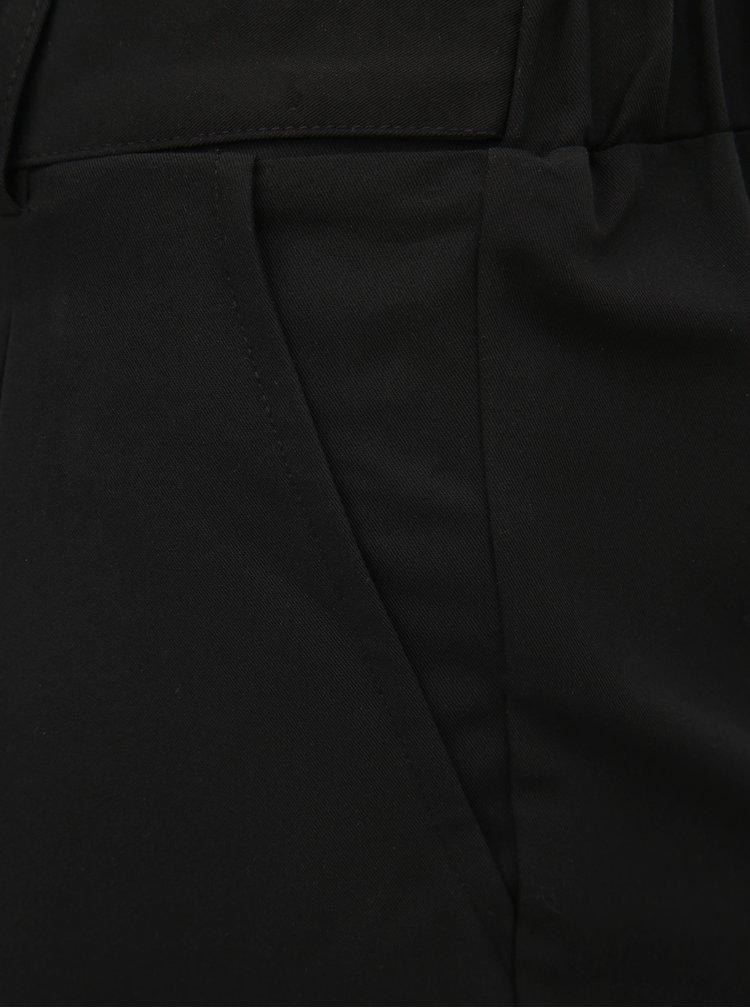 Čierne kraťasy s vysokým pásom TALLY WEiJL