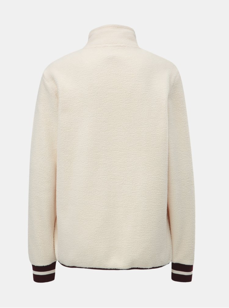 Bluza sport crem din fleece Kari Traa Rothe