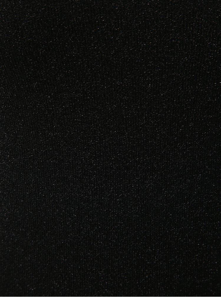 Čierne body so stojačikom a trblietavým efektom Noisy May Infinity