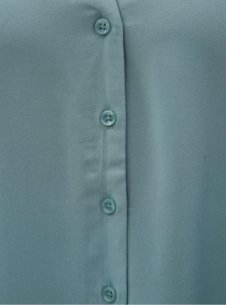 Světle modrá halenka s děrovanými detaily  VERO MODA Sandra