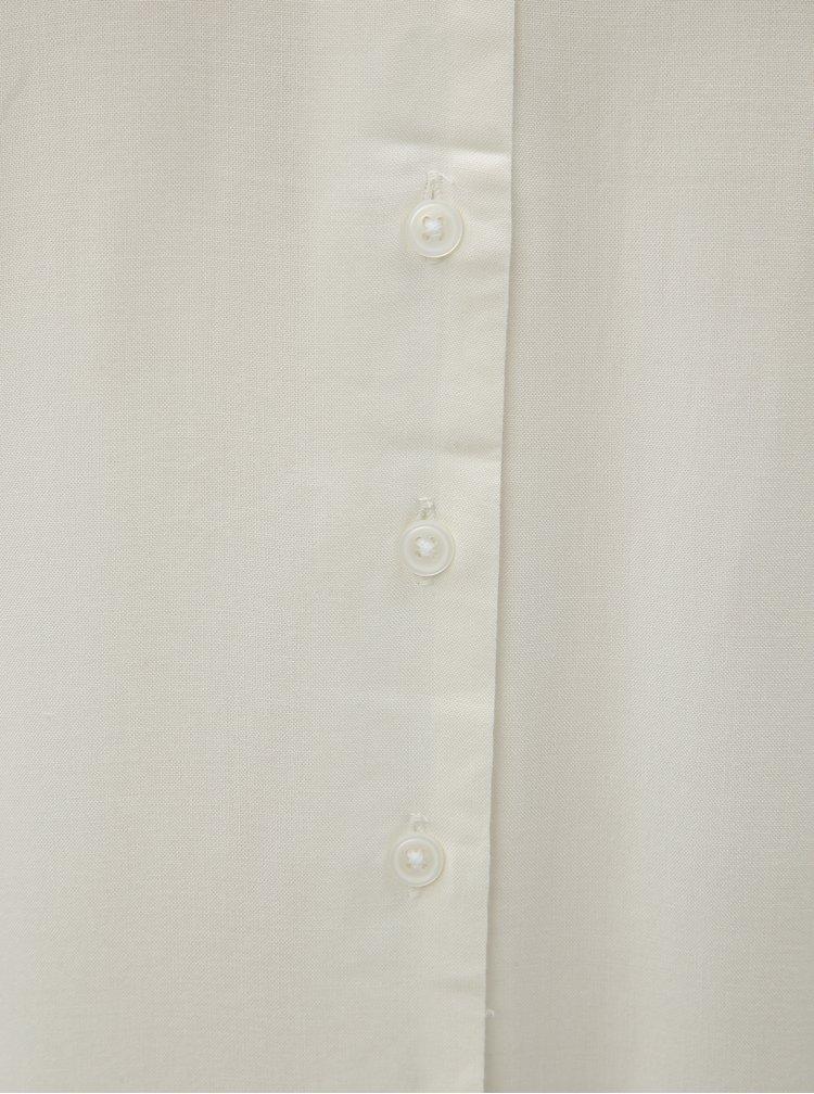 Bluza alba cu detalii perforate VERO MODA Sandra
