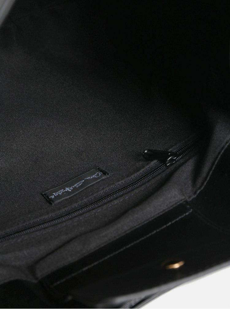 Geanta neagra din piele sintetica Miss Selfridge