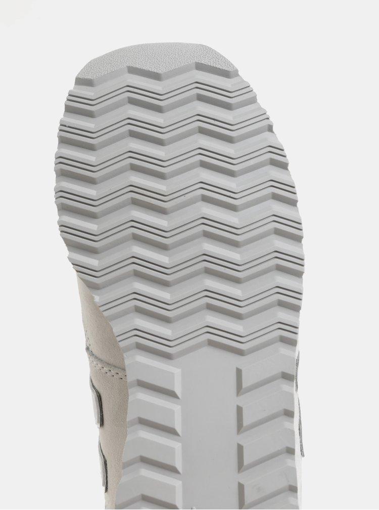 Krémové dámské semišové tenisky New Balance 520