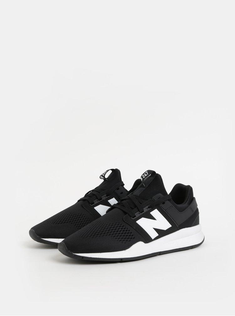 Bílo-černé pánské tenisky New Balance 247