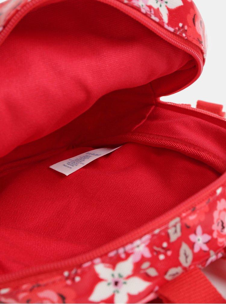 Červený holčičí květovaný batoh Cath Kidston