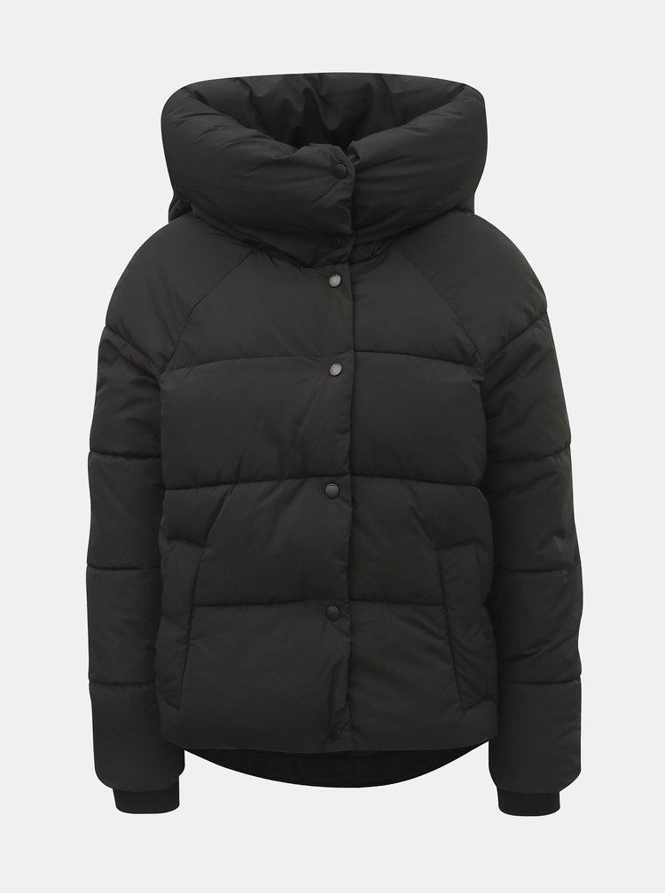 Černá zimní prošívaná bunda ONLY Mari