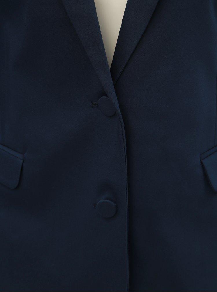 Sacou formal albastru inchis VILA Delia