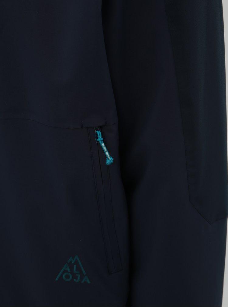 Jacheta parka barbateasca albastru inchis impermeabila Maloja Nahumm