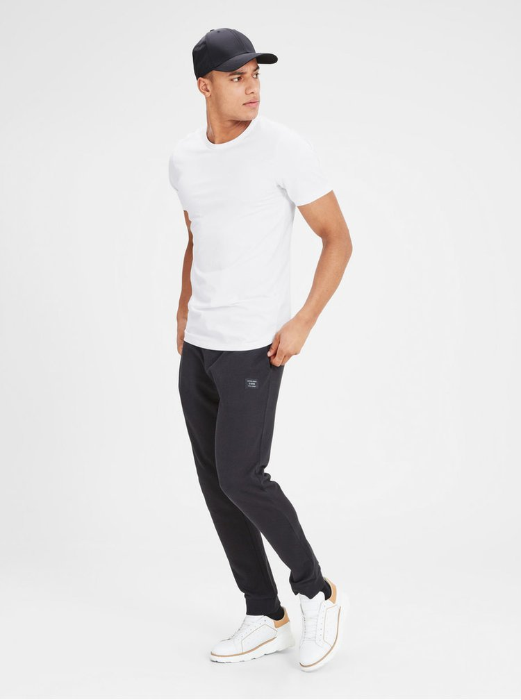 Tricou basic alb Jack & Jones Basic
