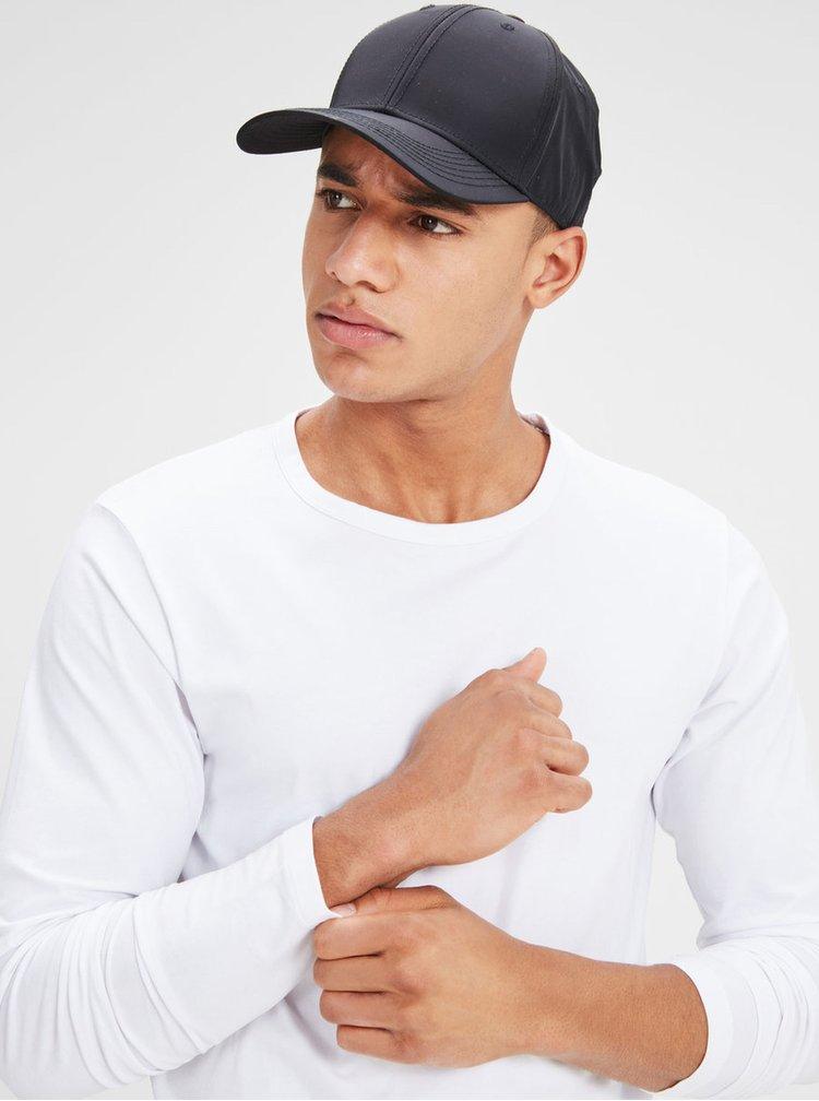 Bluza alba basic Jack & Jones Basic