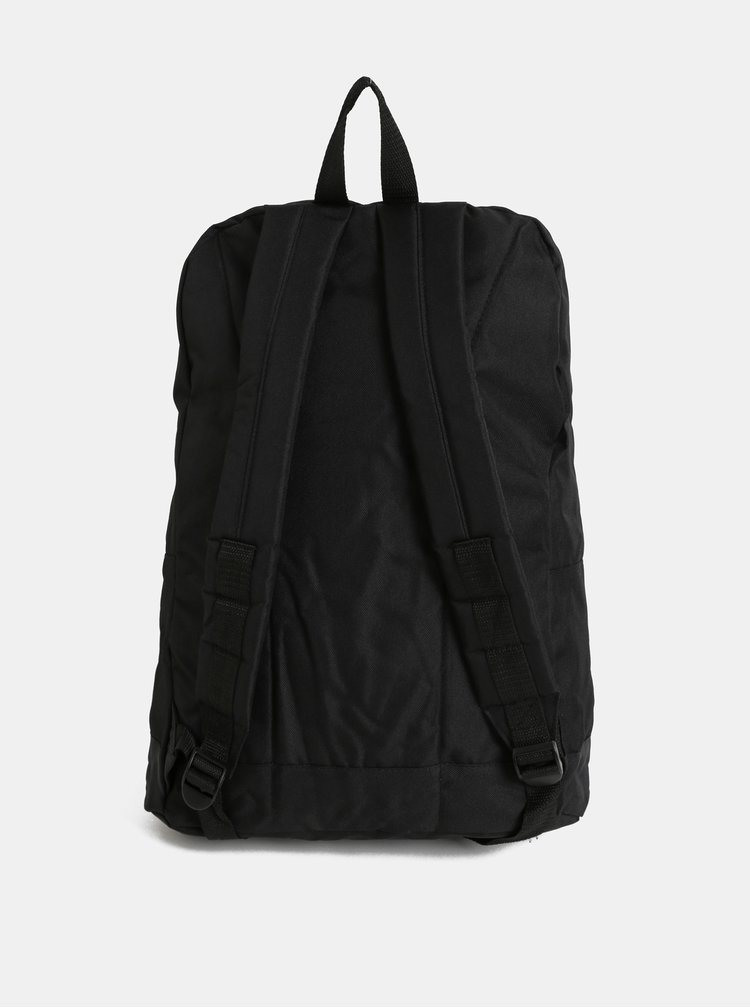 Bielo–čierny batoh s predným vreckom Jack & Jones Basic