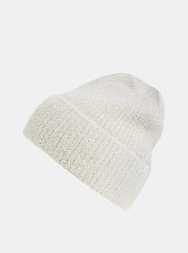 Krémová čepice touch me.