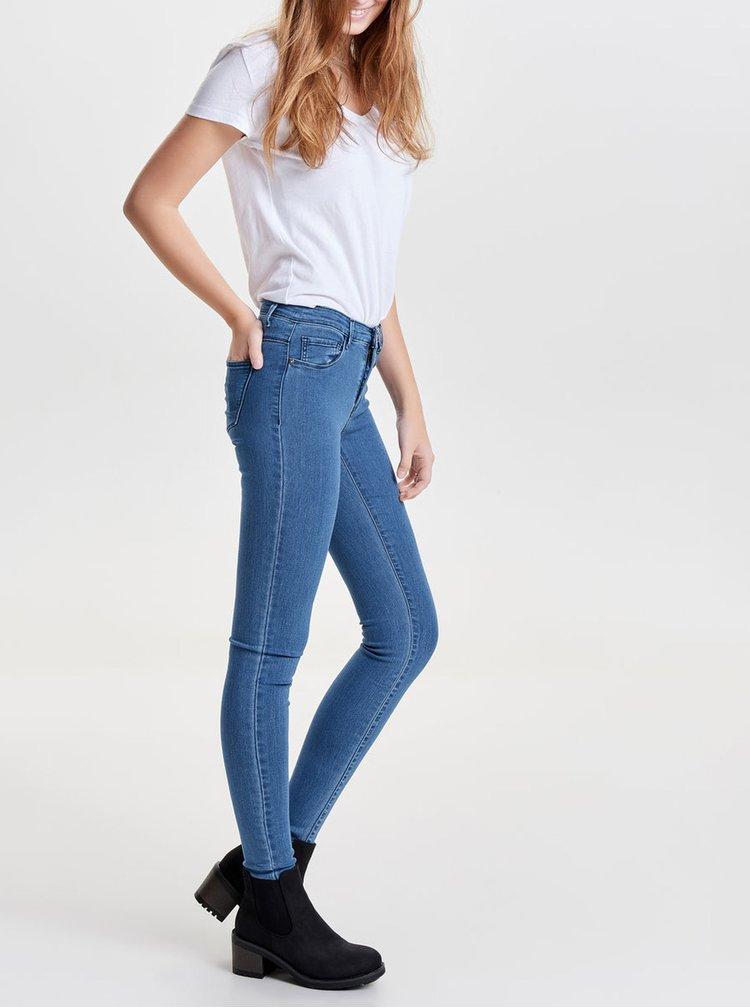 Blugi albastri skinny fit din denim ONLY