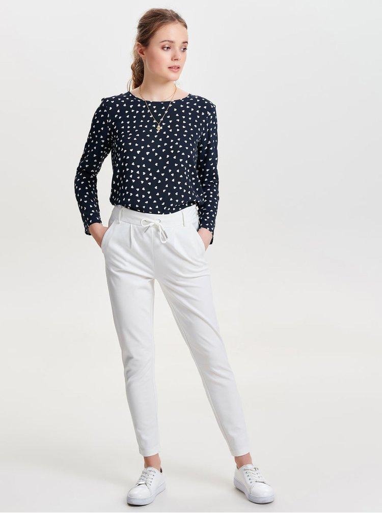 Bílé kalhoty ONLY Poptrash