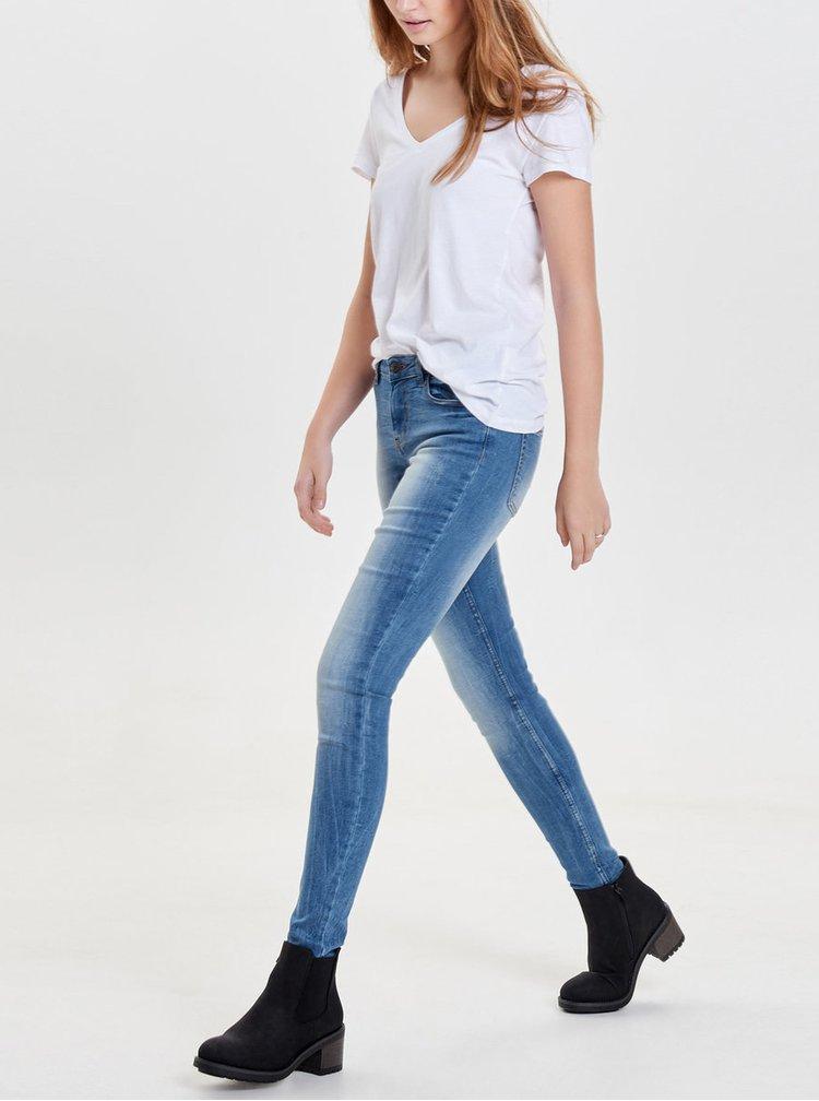 Blugi skinny albastri Jacqueline de Yong Skinny