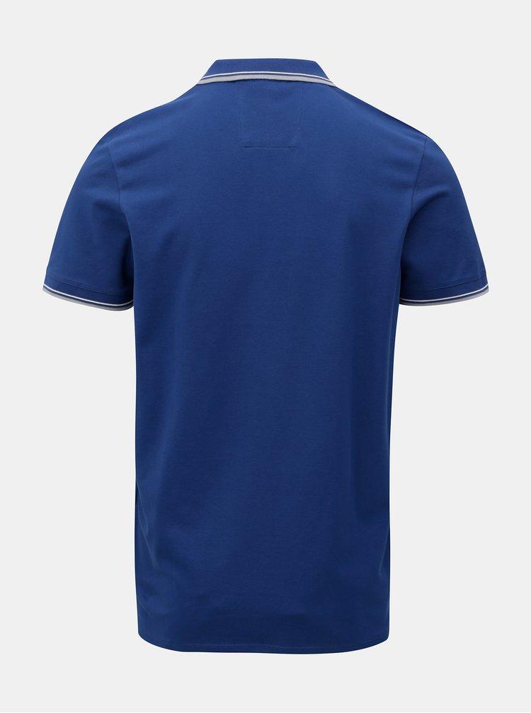 Tmavě modré polo tričko Selected Homme Season