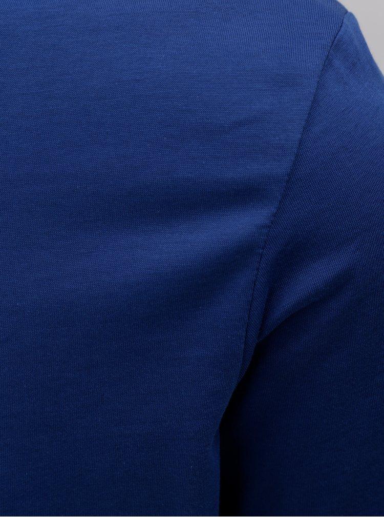 Tmavě modré basic tričko Selected Homme Perfect