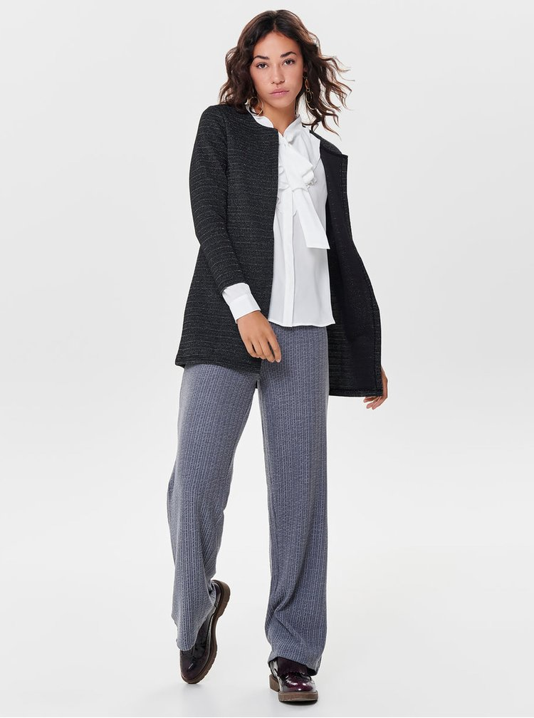 Cardigan gri stralucitor ONLY Leco