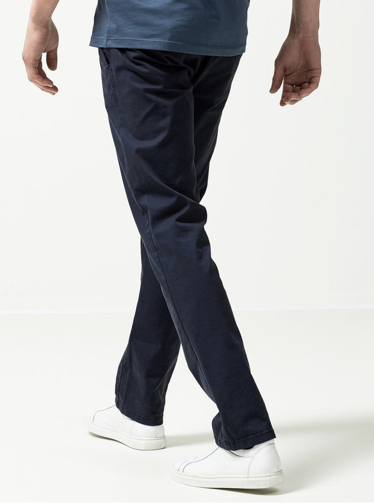 Pantaloni chino bleumarin din bumbac -  Selected Homme Three Paris