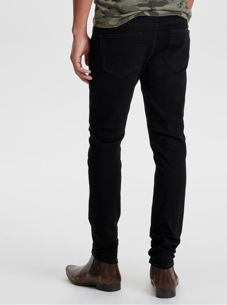 Černé slim džíny ONLY & SONS Loom