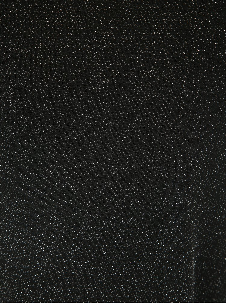 Rochie neagra cu efect stralucitor Dorothy Perkins