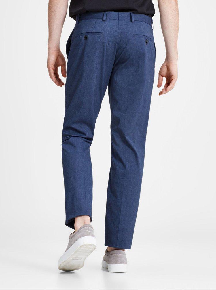 Pantaloni albastru inchis eleganti -  Jack & Jones Peter