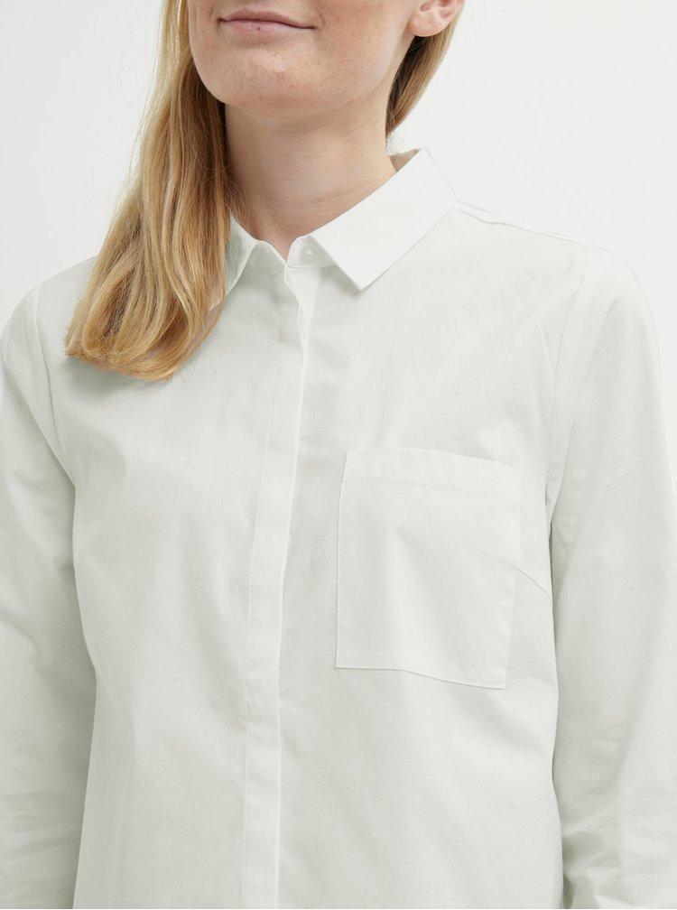 Krémová košile VILA Chau