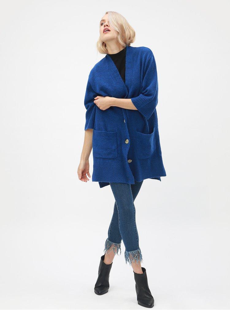 Modrý dámský kardigan Broadway Glema