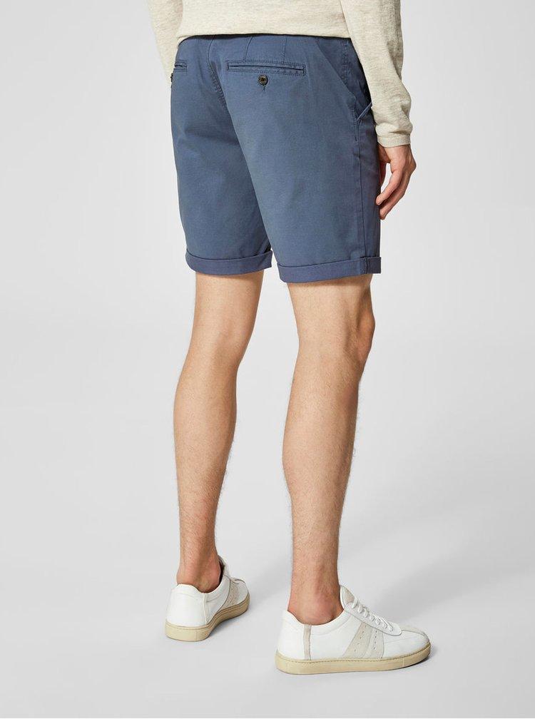 Pantaloni chino scurti albastri - Selected Homme Paris