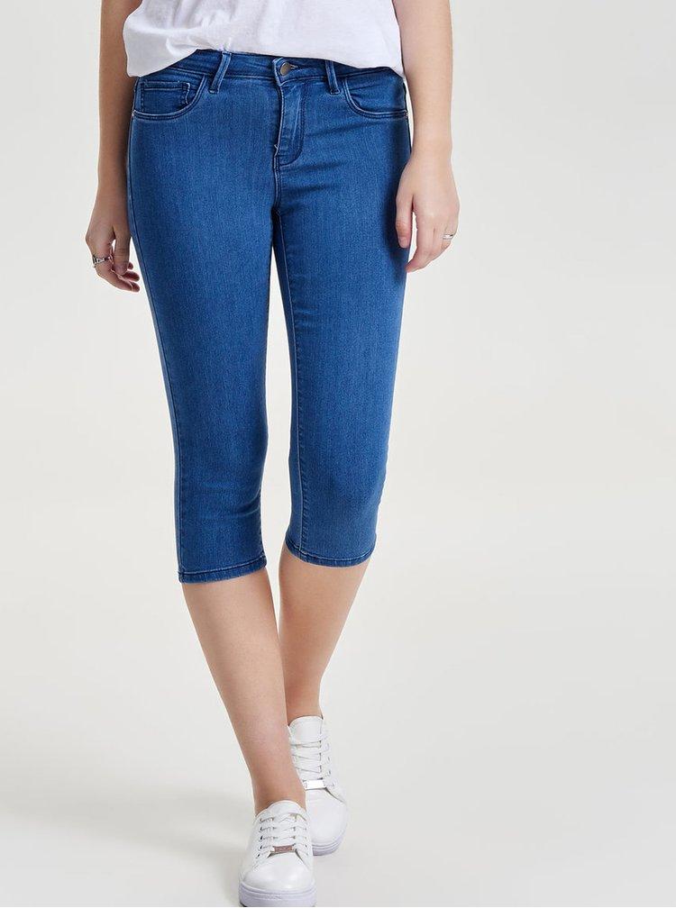 Modré 3/4 džíny ONLY Rain