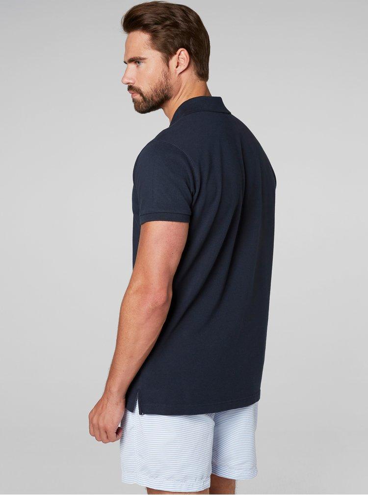 Modré regular fit polo tričko HELLY HANSEN