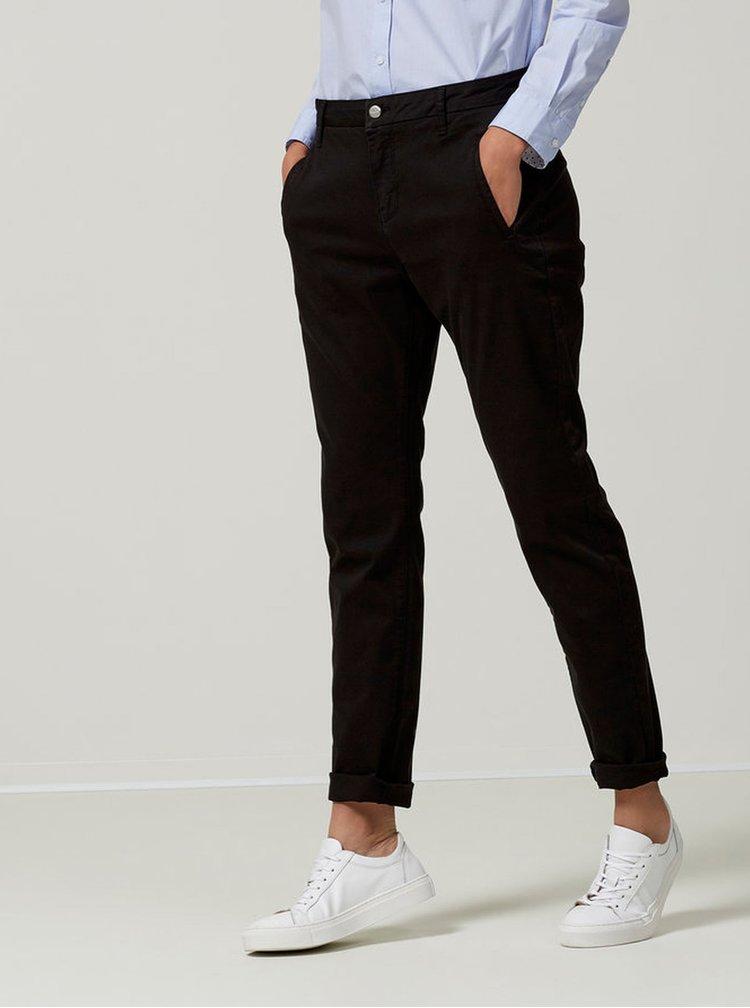 Čierne chino nohavice Selected Femme Ingrid